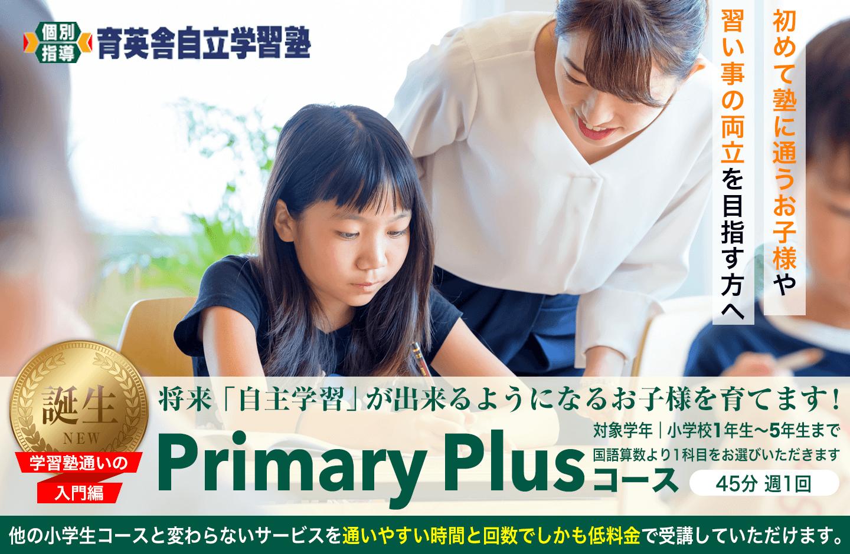 誕生 Primary Plusコース