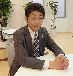 札幌進学プラザ 第一事業部 新林 大祐さん