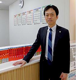 札幌進学プラザ 人材開発室・広報・支援室 部長 高島 重人(たかしま しげと)